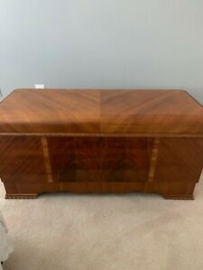 Antique Vintage Lane Cedar Hope Chest Lock Removed With Original Tags 1947