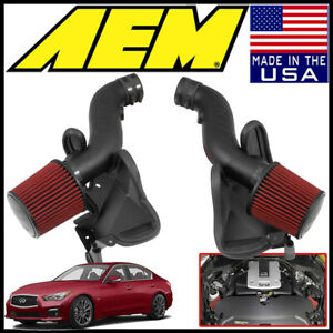 Aem Induction Cold Air Intake System Fits 2014 2016 Infiniti Q50 3 7l V6