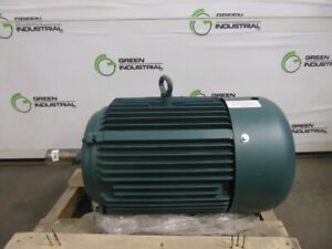 New 20 Hp Leeson C256t17fb4d Wattsaver Electric Motor 208 230 460v 256t Frame