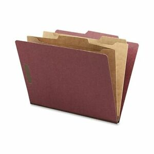 Nature Saver Classification Folders With Pocket Dividers Letter Size 100 Recy