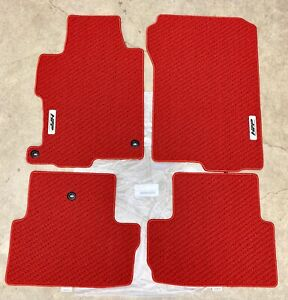 Genuine Oem Honda Accord 2dr Coupe Hfp Red Carpet Floor Mat Set 2013 2017 Mats