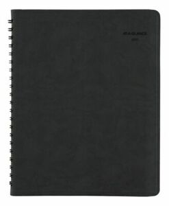 At a glance The Action Planner Weekly Book 8 X 11 Black Jan dec 2020
