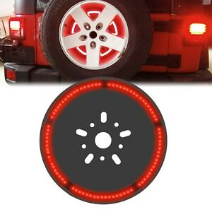 Spare Tire 3rd Third Brake Light Lamp For Jeep Wrangler Jk Tj Lj Yj Cj 1997 2