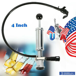 Heavy Duty Beer Keg Tap Pump Party Taps D System 4 Inch Hand Pump Keg Tap Chrome