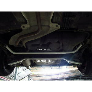 For Nissan March k13 1 2 2011 Ultra Racing 2 Pts Rear Lower Bar ur rl2 2161