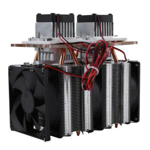 144w Thermoelectric Cooler Refrigeration Air Cooling Dehumidifier System Diy