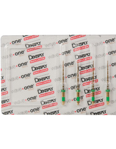 Waveone Gold Wave One Medium Green Endodontic File Root Canal Dentsply 4pk 25mm