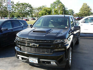 Hood Scoop For 2019 2020 Chevrolet Silverado 1500 By Mrhoodscoop Unp