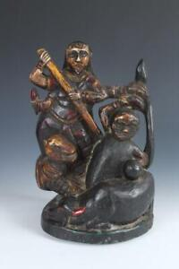 Wooden Nepalese Tribal Statue