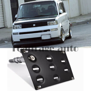 Front Bumper Tow Hook License Plate Bracket Holder For Toyota Bb Scion Xb 04 06