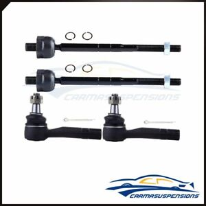 Fits Ford Explorer And Ranger Rwd 4wd 4pcs Tie Rod End Inner Outer