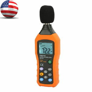 Digital Sound Level Meter Peakmeter Pm6708 Portable Digital Decibel Sound Level