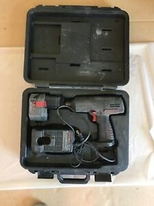 Snap On Cordless 14 4 Impact Gun Charger Ct3450 1 2 With Case Not Working