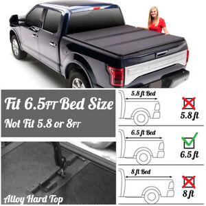 For 1999 06 Chevy Gmc 6 5ft 78 Short Bed Frp Hard Solid Tri Fold Tonneau Cover