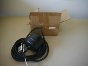 Csh Inc Float Switch For Sewage Sumps Model 012m1a New Open Box