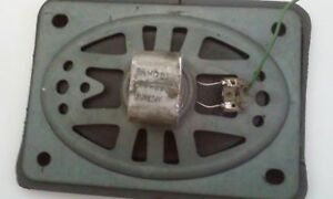 1964 Cheverolet Impala Dash Speaker Recone Repair