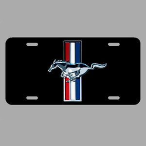 Mustang License Plate Tag Car Ford Hot Rod Racing Metal Lc011