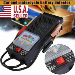 New Battery Load Tester 100 Amp Load Type 6v 12v Mechanics Car Truck Usa