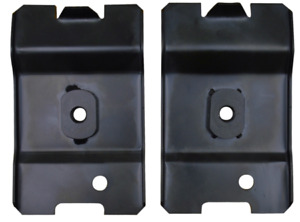 Rear Of Front Seat Anchor Plates For 1979 1993 Ford Mustang