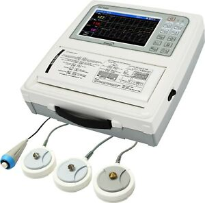 New Bionet Fc 1400 Antepartum Fetal Monitor For Twins W 7 Color Touch Screen