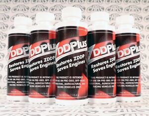 Zddplus Zddp Engine Oil Additive Restores Zinc Every Oil Change 5 Pack Discount