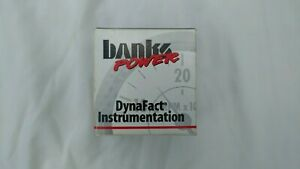 Nib Banks Power Dynafact Turbo Boost 2 1 16 50psi Gauge 63027 Like 64051