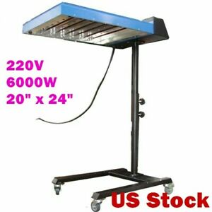 Usa 20 X 24 Automatic Screen Printing Ir Flash Dryer With Sensor