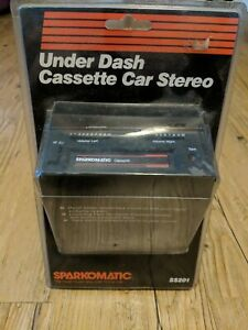 New Under Dash Cassette Car Stereo Player Vintage