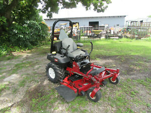 Toro Z 580d Zero Turn Comercial 60 Rotary Mower Diesel Engine Model 74267