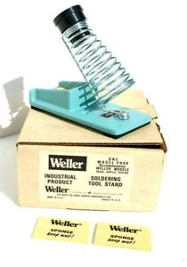 Vintage Weller Cast Iron Ph60 Soldering Iron Stand Nos