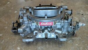 Edelbrock Performance Carburetor 1405 600cfm Manual Choke Street Strip Racing