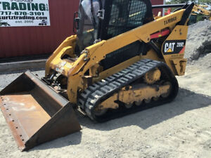 2015 Caterpillar 289d Compact Track Skid Steer Loader Cab 2spd Highflow 2200hrs