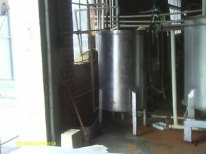 Stainless Steel Tank 145 Gallon Open Top With Legs