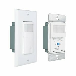 Auto Motion Sensor Detector Wall Light Switch Pir For Office Home Room 10 Pack