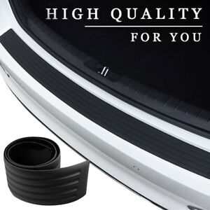 41 Car Trunk Suv Sill Plate Bumper Guard Protector Rubber Pad Cover Trim Cover