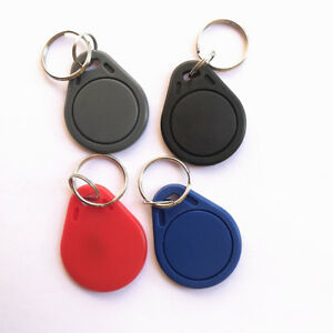 13 56mhz Iso Rfid Mifare Classic 4k Key Fob For Access Control pack Of 10