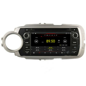 Android 9 1 Car Dvd Gps Radio Stereo Navi For Toyota Yaris 2012 2013 2014 2015