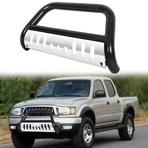 New Front Black Bull Bar Bumper Fits 98 04 Toyota Tacoma With 96 98 4 Runner