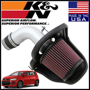 K n Typhoon Cold Air Intake System Fits 2012 2017 Chevy Sonic 1 8l L4