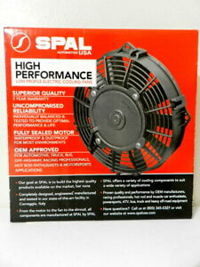 Spal 30102055 14 Pusher Fan Straight Blade 1652 Cfm