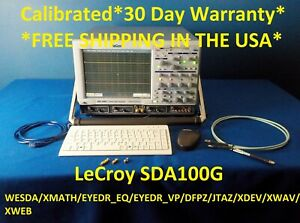 Lecroy Sda100g Scope Probes 2 se 50 St 20 Cdr e135 50 ghz 2ch Loaded We100h