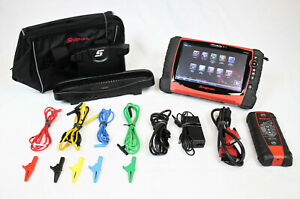 Snap On Verus Pro D10 Diagnostic Scan Tool With Lab Scope 18 4 Software