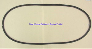 1939 1947 Dodge Truck Rear Window Rubber