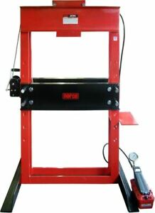 Norco 78057a 50 Ton Press With Air Hydraulic Foot Pump 6 1 4 Stroke