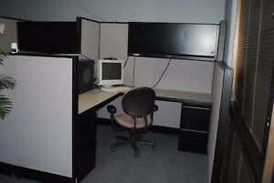 6 X 6 Cubicle partition System