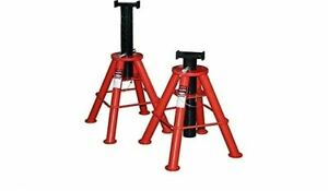 Norco 81210i 10 Ton Cap Jack Stands Pin Type high Imported