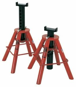 Norco 81208i 10 Ton Cap Jack Stands Pin Type low Imported