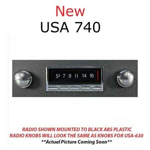 Usa 740 1975 76 77 Olds Cutlass Radio Am Fm Bluetooth W Mic Usb Aux Ipod