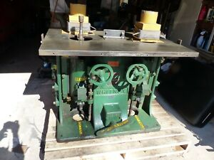 Whitney 90 Double Spindle Shaper
