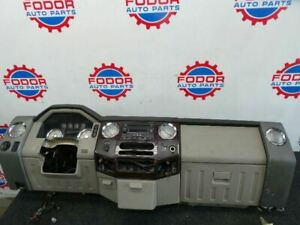 2008 2010 Ford F250 F350 Superduty Complete Dash Board Panel Cupholder Vents Oem